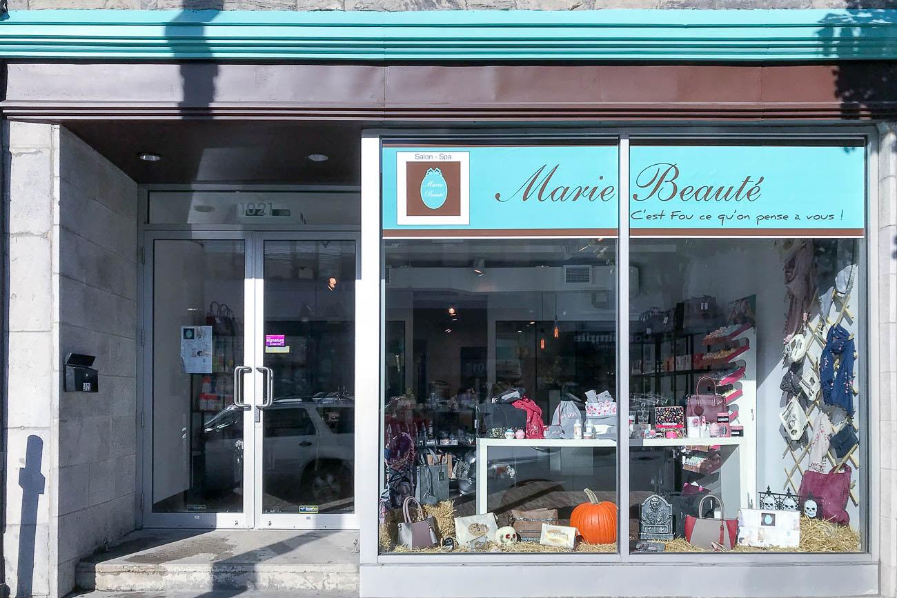 Marie beaute coiffure spa montreal marie beaut salon for Salon de marie