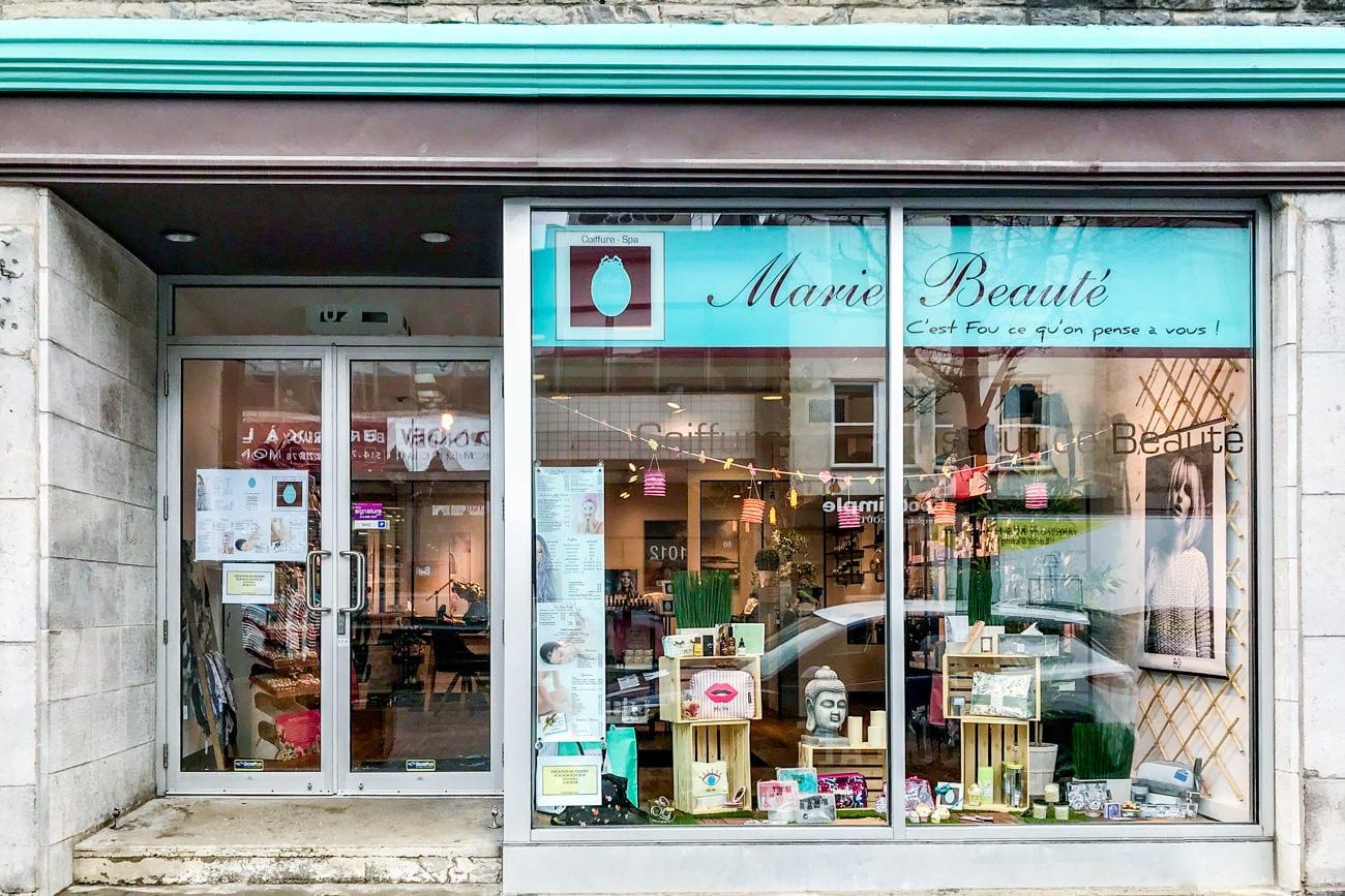 Marie beaut salon de coiffure institut de beaut salon de coiffure et spa de soins beaut - Salon de soins esthetiques ...